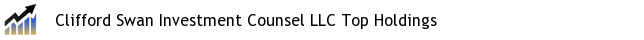 Clifford Swan Investment Counsel LLC Top Holdings