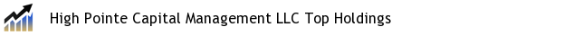 High Pointe Capital Management LLC Top Holdings