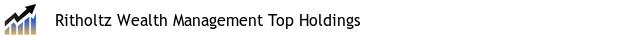 Ritholtz Wealth Management Top Holdings