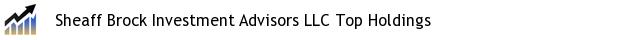 Sheaff Brock Investment Advisors LLC Top Holdings