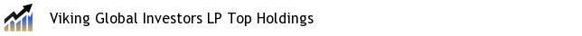 Viking Global Investors LP Top Holdings