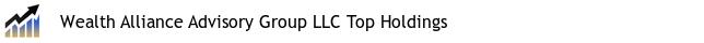 Wealth Alliance Advisory Group LLC Top Holdings