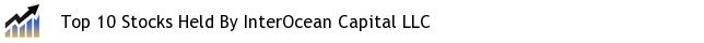 Top 10 Stocks Held By InterOcean Capital LLC