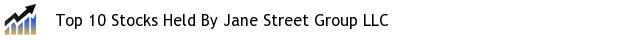 Top 10 Stocks Held By Jane Street Group LLC